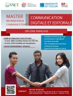 Admission to Master's Programs in 2019 Master Science in Digital and Editorial Communication (European Degree)