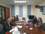 Lãnh đạo IFI tiếp lãnh đạo ĐH Toulon, Pháp, đối tác cấp bằng chương trình thạc sĩ Thông tin truyền thông tại IFI