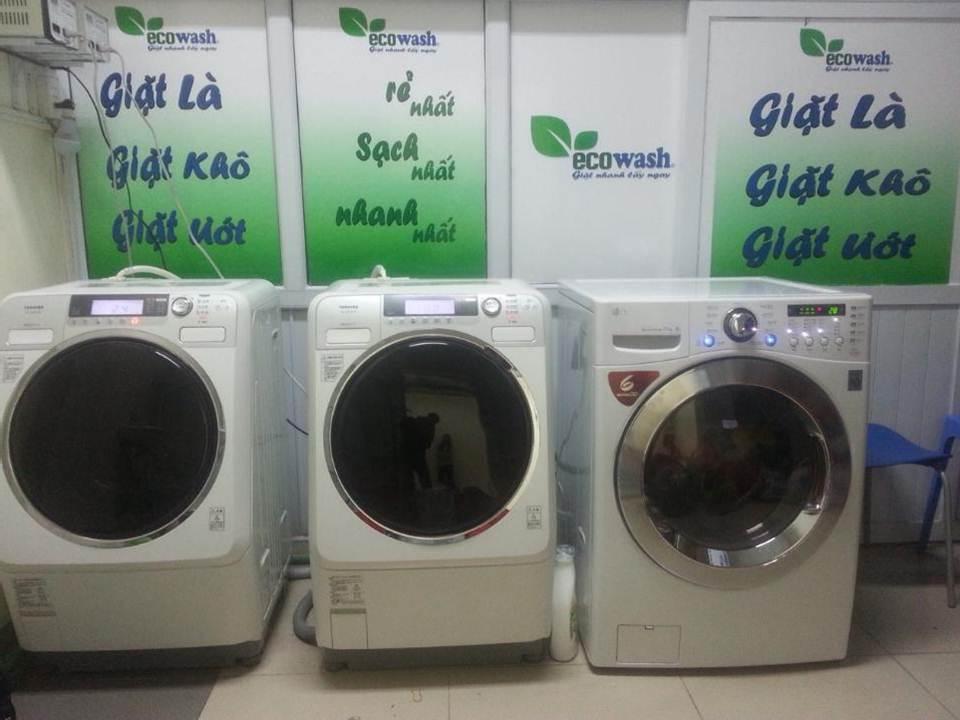 Phòng giặt là phục vụ sinh viên