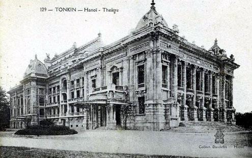 Nhà hát lớn Hà Nôi năm 1911 (Nguồn Internet)