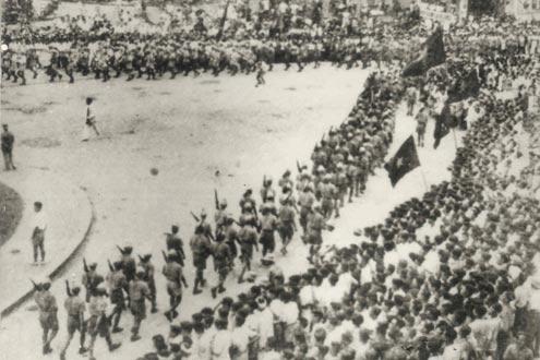 Duyệt binh của Giải phóng quân ngày 29/8/1945