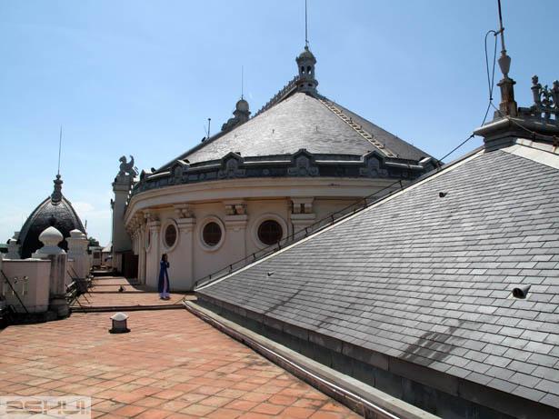 Mái ngói đá Nhà hát lớn Hà Nội
