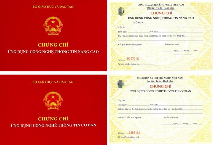 Thông báo lịch thi chứng chỉ Ứng dụng CNTT ngày 03/02/2018