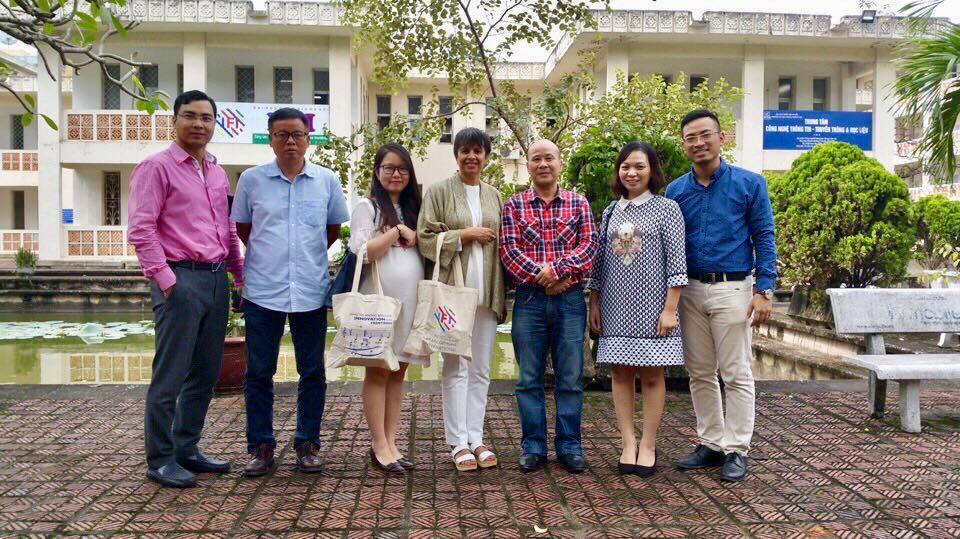 Chuyến thăm IFI của Giám đốc khu vực châu Á - Thái Bình Dương, AUF