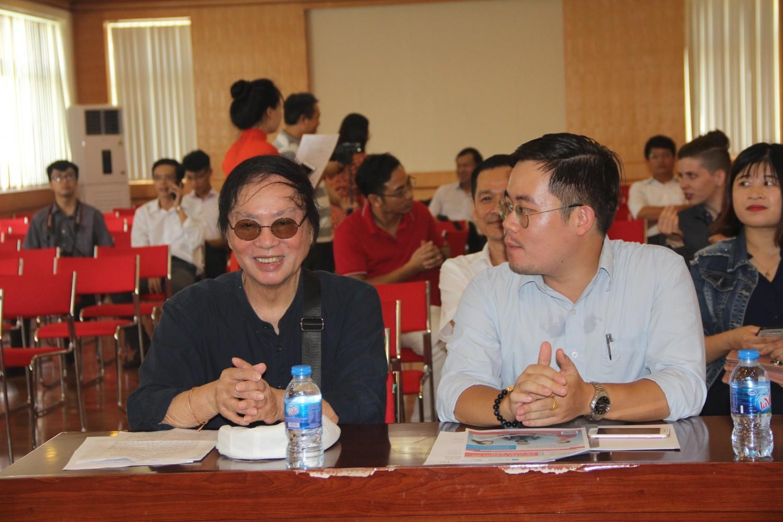 Đạo diễn Đặng Nhật Minh - trưởng ban giám khảo cuộc thi