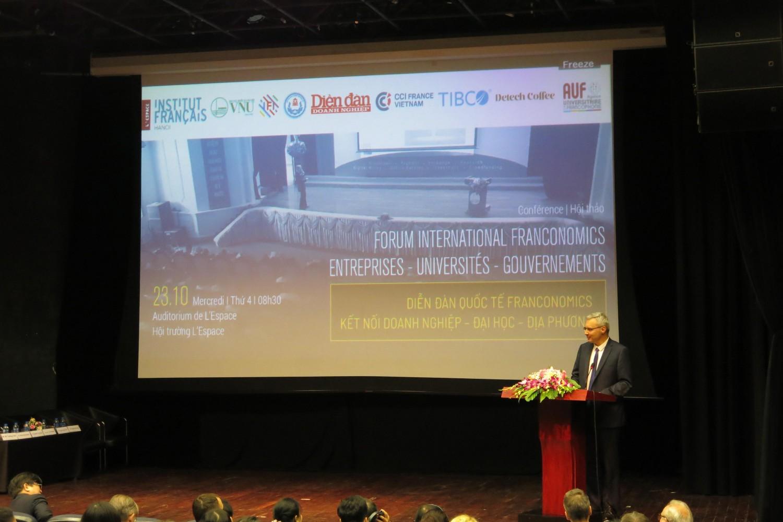 Ông Nicolas Warnery, Đại sứ Pháp tại Việt Nam