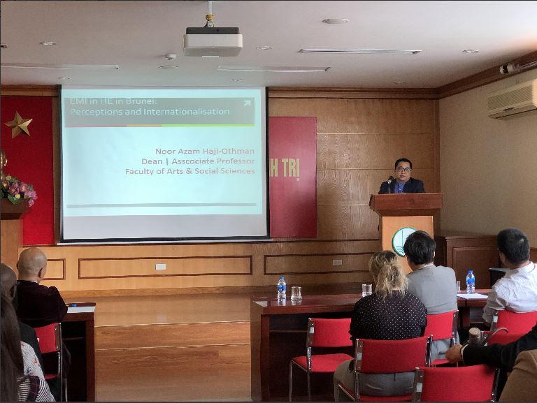 Assoc.Prof.Dr. Noor Azam Haji-Othman Brunei Doyen de la Faculté des lettres et sciences sociales de l'Université Brunei Darussalam