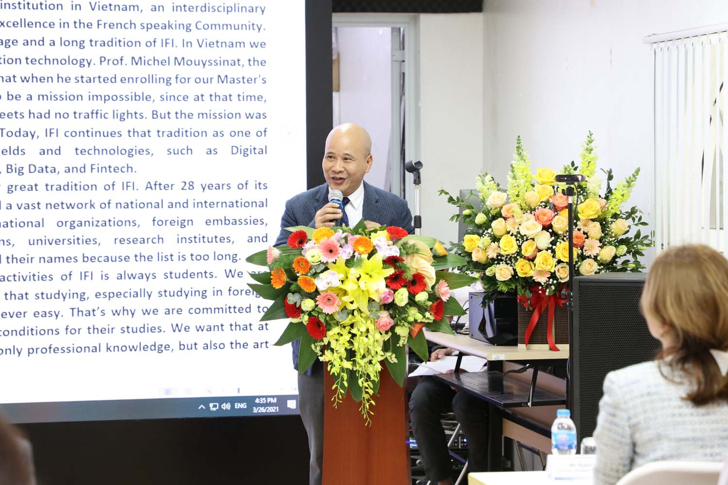 Dr. Ngo Tu Lap, President of the Scientific Council, Director