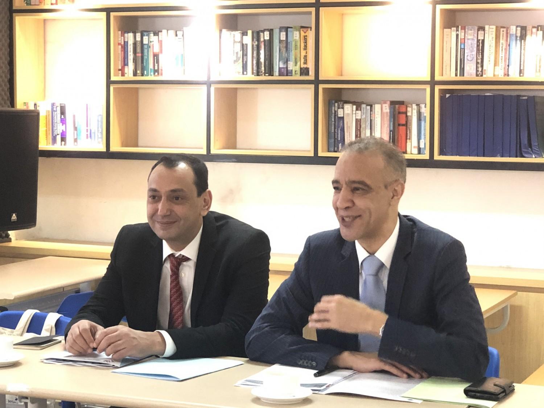 Ông Jamale Chouaibi, Đại sứ Maroc tại Việt Nam và ông Tarik Ghozlani, Tham tán-Công sứ, Phó đại sứ Maroc tại Việt Nam