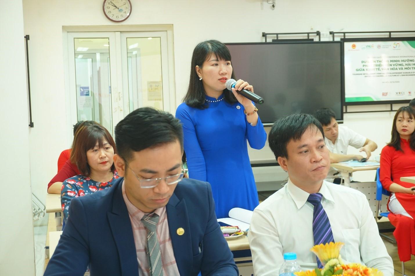 Đại biểu tham gia thảo luận tại Đại hội