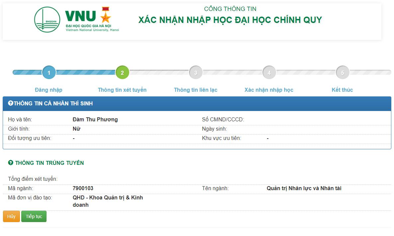 VNU HD XNNH 3